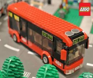 Lego städtischen bus puzzle