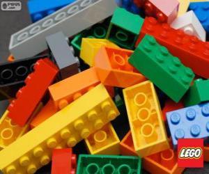 Legosteinen puzzle