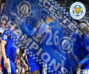 Leicester City, Meister 2015-2016 puzzle