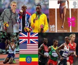 Leichtathletik Männer 10.000 m London 2012 puzzle