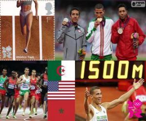 Leichtathletik Männer 1.500m London 2012 puzzle