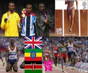 Leichtathletik Männer 5,000 m London 2012 puzzle