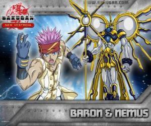 Leltoy Baron und seine Bakugan Nemus puzzle