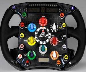 Lenkrad F1 puzzle