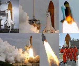 letzte Neuvorstellung der Shuttle Atlantis puzzle