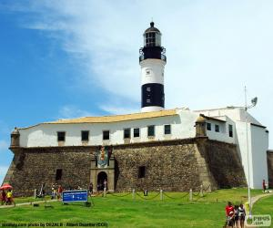 Leuchtturm der Barra, Brasilien puzzle