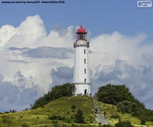 Leuchtturm Dornbusch, Deutschland puzzle