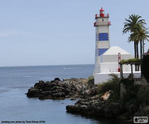 Leuchtturm von Santa Marta, Portugal puzzle