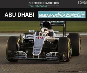 Lewis Hamilton, 2016-Abu Dhabi GP puzzle
