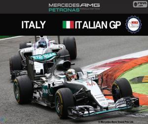 Lewis Hamilton, G.P Italien 2016 puzzle
