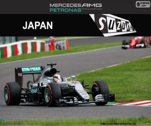 Lewis Hamilton, Großer Preis Japan 2016 puzzle
