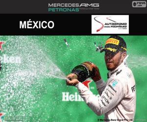 Lewis Hamilton, großer Preis Mexiko 2016 puzzle