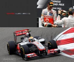 Lewis Hamilton - McLaren - Grand Prix von China (2012) (3. Platz) puzzle