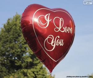 Liebe Ballon puzzle