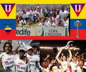 Liga Deportiva Universitaria de Quito Champion 2010 (ECUADOR) puzzle