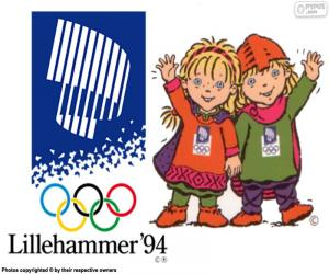 Lillehammer 1994 Olympischen Winterspiele puzzle