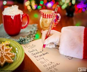 Liste von Santa Claus puzzle