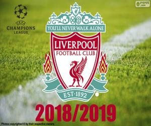 Liverpool, Champions-League-2019 puzzle