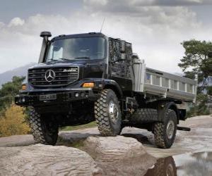 LKW Mercedes-Benz Zetros puzzle