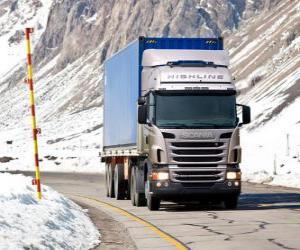 Lkw Scania R 470 puzzle