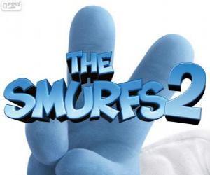 Logo aus dem Film Die Schlümpfe 2, The Smurfs 2 puzzle