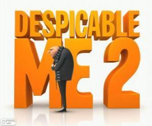 Logo aus dem Film Ich Einfach Unverbesserlich 2 puzzle
