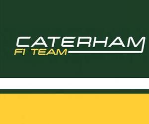 Logo der Caterham F1 Team puzzle