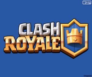 Logo der Clash Royale puzzle
