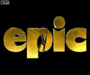 Logo der Epic. Verborgenes Königreich puzzle