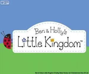 Logo der kleinen Königreich von Ben und Holly puzzle