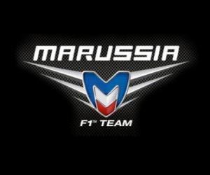 Logo der Marussia F1 Team puzzle
