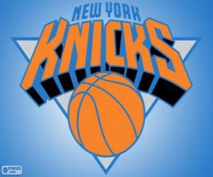 Logo der New York Knicks, NBA-Team. Atlantic Division, Eastern Conference puzzle