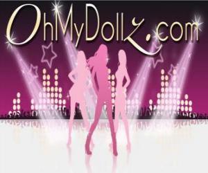 Logo der Oh My Dollz puzzle