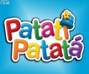 Logo der Patatí Patatá puzzle