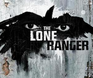 Logo des Film Lone Ranger puzzle