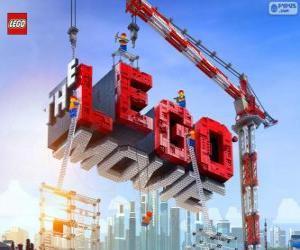 Logo des Films Lego puzzle
