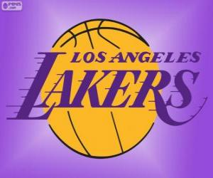 Logo Los Angeles Lakers, NBA-Team, Pacific Division, Western Conference puzzle