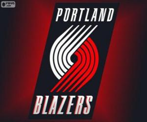 Logo Portland Trail Blazers, NBA-Team. Northwest Division, Western Conference puzzle