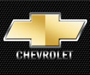 Logo von Chevrolet, amerikanische Automobilmarke puzzle
