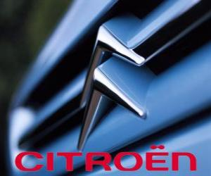 Logo von Citroën, Französisch Fahrzeuge der Marke puzzle