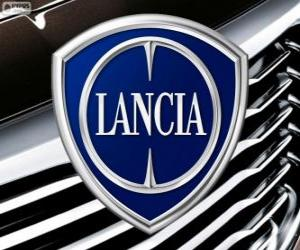 Logo von Lancia, italienische Marke puzzle