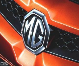 Logo von MG, Marke des Vereinigten Königreichs puzzle