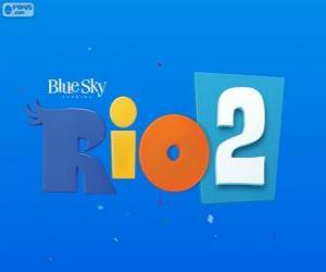 Logo von Rio 2 den Film puzzle