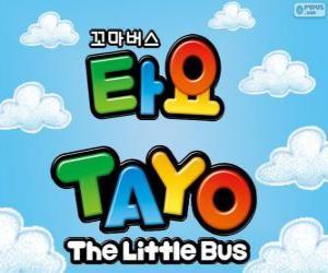Logo von TAYO den kleinen Bus puzzle