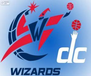 Logo Washington Wizards, NBA-Team. Southeast Division, Eastern Conference puzzle