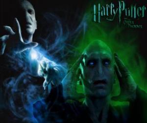 Lord Voldemort ist der größte Feind von Harry Potter puzzle
