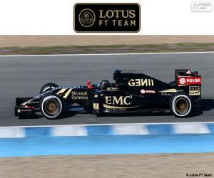Lotus F1 Team 2015 puzzle