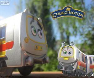 Lukas, der Schnellzug aus Chuggington puzzle