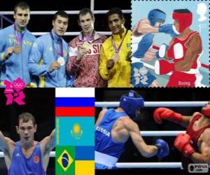 Männer-Mittelgewicht Boxen London 2012 puzzle