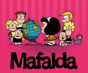 Mafalda und Freunde puzzle